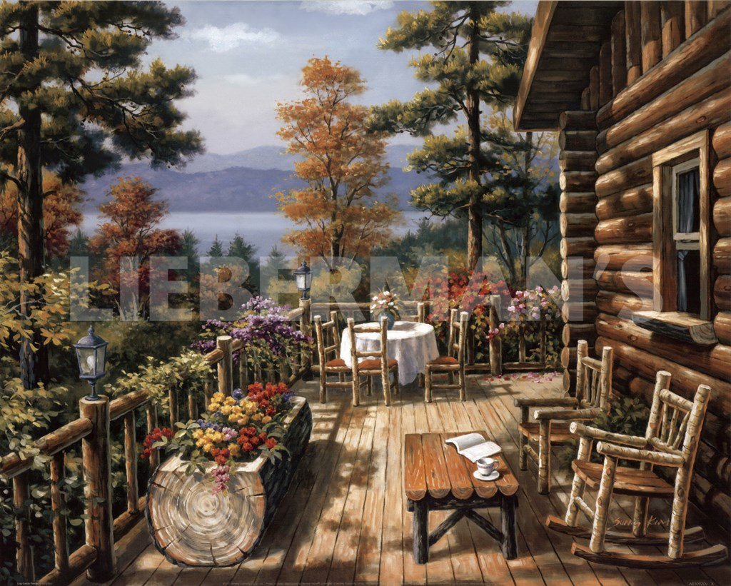 Painting Anysize 50 % Off Http Www Paintinghere Com Painting Log Cabin. Full resolution‎  photo, nominally Width 1024 Height 821 pixels, photo with #936138.