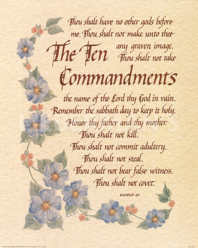 list of the ten commandments ten commandments printable 403 forbidden