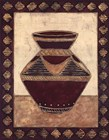 Tribal Urn II by Elizabeth David art print