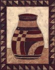Tribal Urn III by Elizabeth David art print