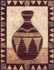 Tribal Urn IV by Elizabeth David art print