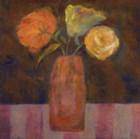 Orange  Olive by Carolyn Holman art print