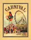 Carnival by Catherine Jones art print