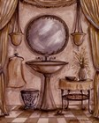 Charming Bathroom IV by Kate McRostie art print