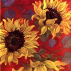 Sunflower II by Shari White art print