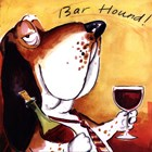 Bar Hound by Tracy Flickinger art print