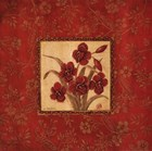Orchids In Red by Jo Moulton art print