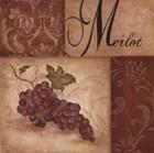 Merlot Grapes by Eugene Tava art print