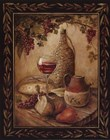 Tuscan Table - Chianti - Mini by Gregory Gorham art print