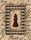 Chess Bishop - Mini by Gregory Gorham art print