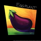 Eggplant - mini by Mary Naylor art print
