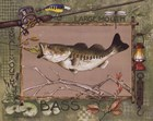 Large Mouth Bass by Anita Phillips art print