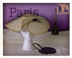 Paris Hat by Judy Mandolf art print