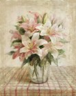 Cottage Lilies in Pink by Danhui Nai art print