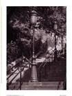 Les Escaliers De Montmartre by Teo Tarras art print