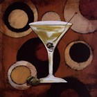 Martini Cocktail by Susan Osborne art print