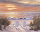 Paradise Sunset by Diane Romanello art print