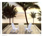 Palm Beach Retreat by Diane Romanello art print