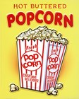 Hot Buttered Popcorn art print