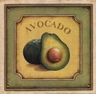 Avocado by Daphne Brissonnet art print