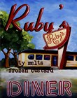 Ruby's Diner by Catherine Jones art print