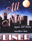 All Nite Diner by Catherine Jones art print