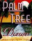 Palm Tree Diner by Catherine Jones art print