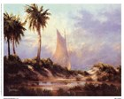 Manasota Key Returning by Malarz art print