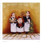Christmas Waiters by Tracy Flickinger art print