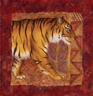 Tiger Safari by Terri Cook art print