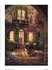 Spring Courtyard I by J. Martin art print