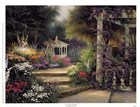 Emerald Garden by Egidio Antonaccio art print