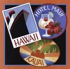 Travel-Hawaii by Stephanie Stouffer art print