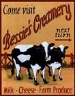 Bessie's Creamery by Grace Pullen art print
