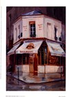 Bake Shop In The Rain, Paris by George Botich art print