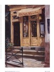 Shop Of The Three Steps, Paris by George Botich art print