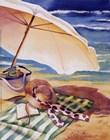 Seaside III by Kathleen Denis art print