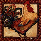 Provincial Rooster Red by Suzanne Etienne art print