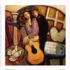 Heartstrings I by Lisa Linch art print