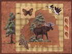 Moose Leaf by Anita Phillips art print