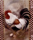 Coat Of Many Colors Rooster by Alma Lee art print