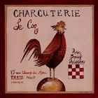 Charcuterie by Katharine Gracey art print
