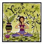 Yoga Girl by Jennifer Brinley art print