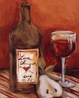 Picnic With Red Wine by Nicole Etienne art print
