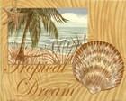 Exotic Adventure I by Marcia Rahmana art print