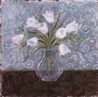 White And Paisley II by Marcia Rahmana art print