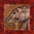 Elephant Safari by Terri Cook art print