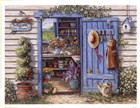 Welcome To My Garden by Janet Kruskamp art print