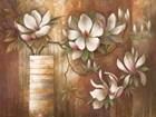 Southern Magnolias by Elaine Vollherbst-Lane art print