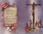 I Asked Jesus (quote) art print